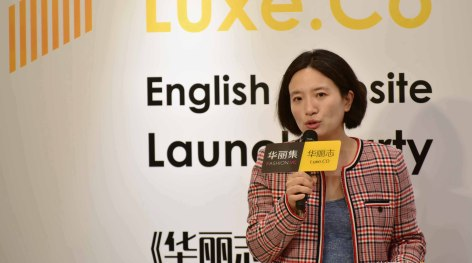 Connect Fashion Power of China with the World:Luxe.Co has launched the English Website En.Luxe.Co