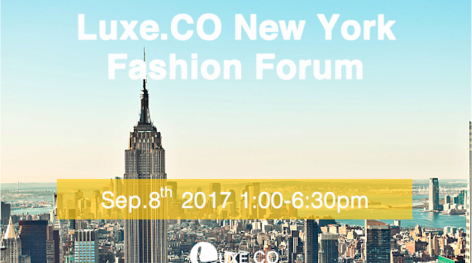 Luxe.Co New York Fashion Forum (Sep-8): ticket available now!