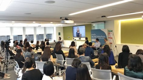 """""""We will see more Billion-Dollar Fashion-Lifestyle Brands in China!"""": Opening Speech by founder of Luxe.CO:Alicia Yu at New York Fashion Forum"""