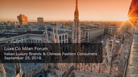 Luxe.Co Forum is coming to Milan on Sep 25, 2018