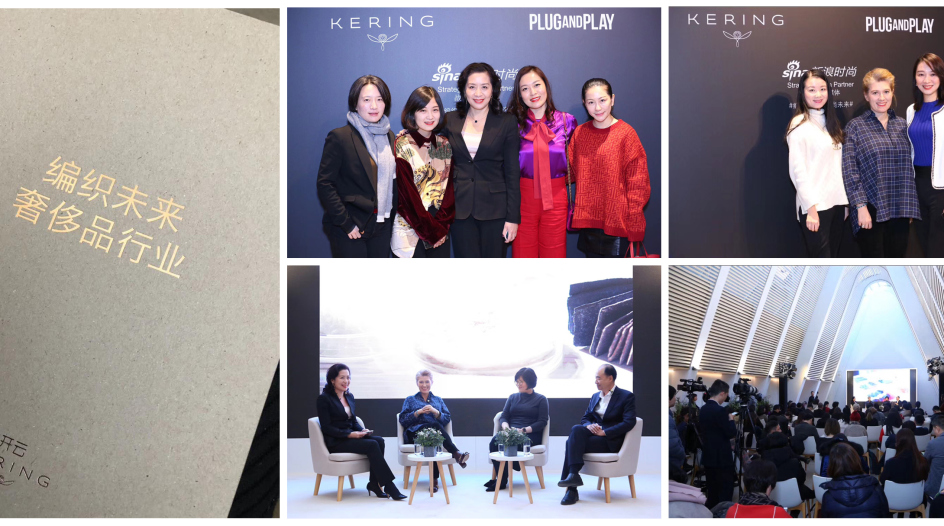 Crafting tomorrow's luxury | Kering launches sustainable innovation award in Greater China with Plug and Play